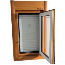 Alu Drvo prozor otvoren