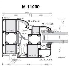 Alumil M11000 presek